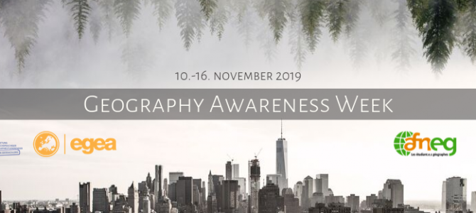 Geography Awareness Week 2019